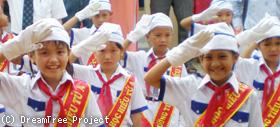 フートゥー小学校の児童