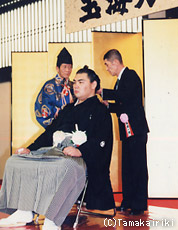大相撲元幕内力士 玉海力