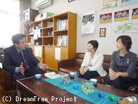 小学校6年生/東京都武蔵村山市立第八小学校での出前授業風景